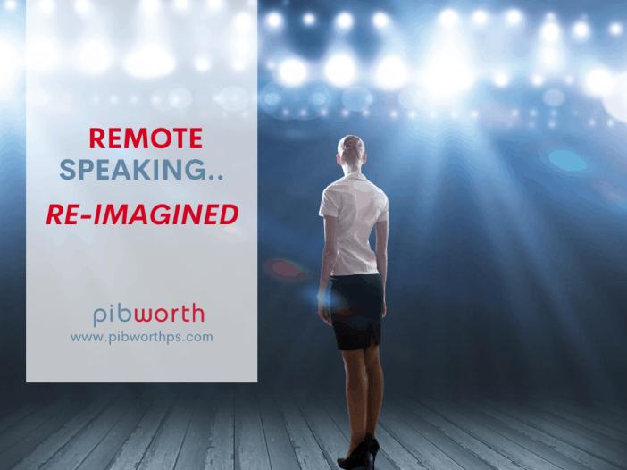 remote speaking, virtual speaking