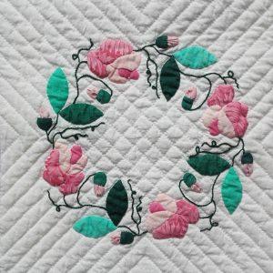 Baltimore détail couronne de roses Catherine mars 1996