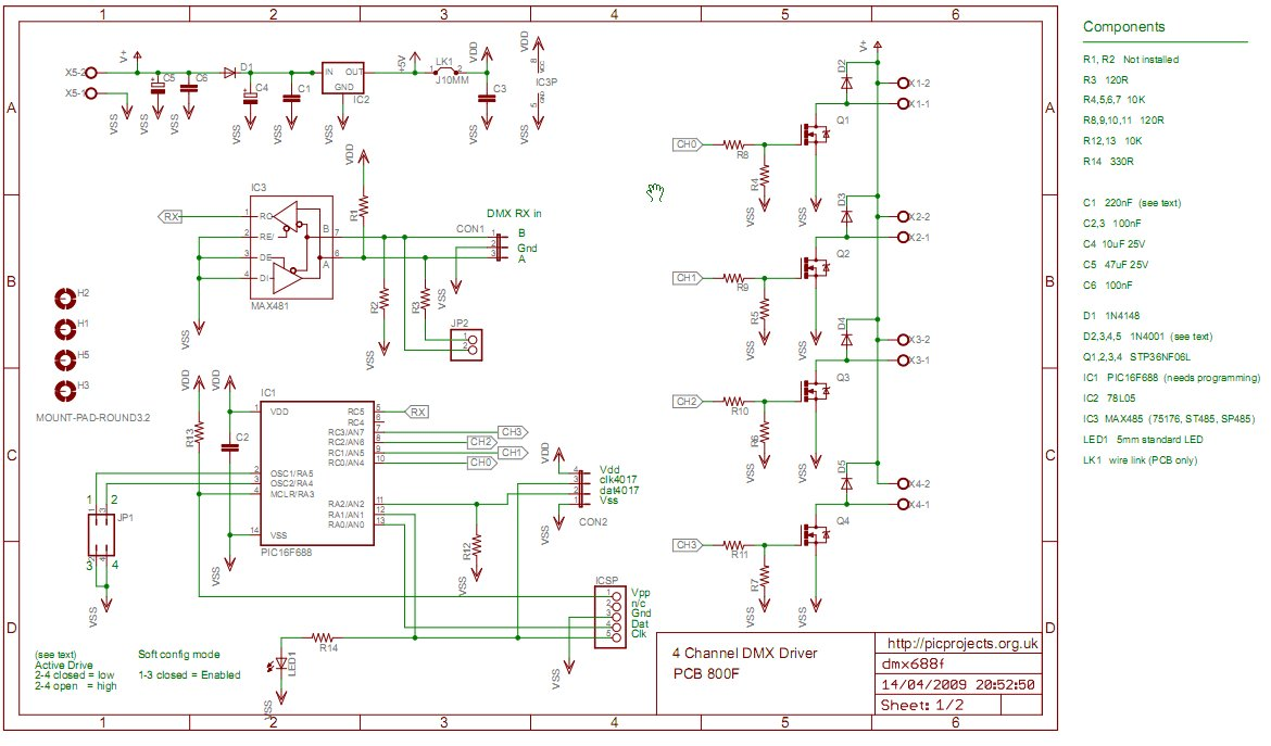 4 Channel DMX512 Driver for PIC16F688 schematic?resize\\\\\\\=665%2C390 yamaha nytro wiring diagram wiring diagrams Yamaha Wiring Schematic at bayanpartner.co