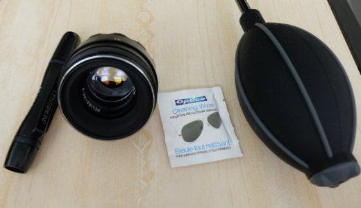 カメラレンズの汚れやホコリを掃除!レンズをセルフクリーニングする方法