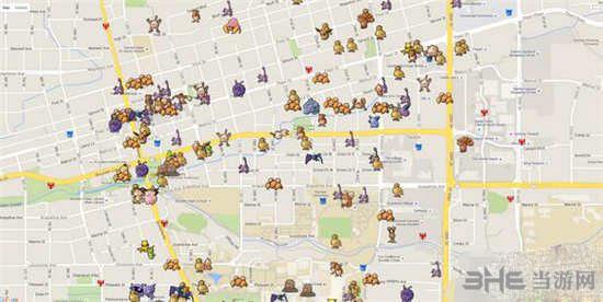 精靈寶可夢GO舊金山怪物分布 pokemon go舊金山精靈分布_當游網