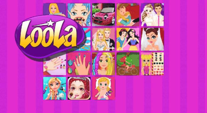 Loola Fashion Games Barbie