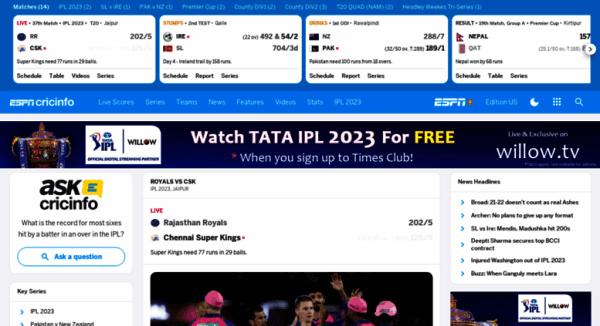Access content-search.cricinfo.com. Check Live Cricket ...