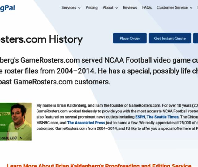 Gamerosters Com Screenshot