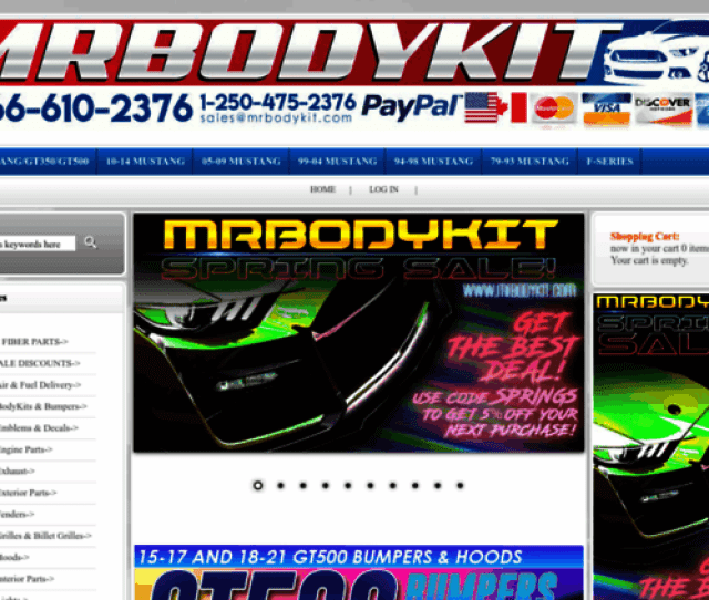 Access Mrbodykit Com Mrbodykit Com The Most Diverse Mustang Bodykits And Mustang Aftermarket Parts On The Planet
