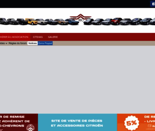 Planete Citroen Com Screenshot