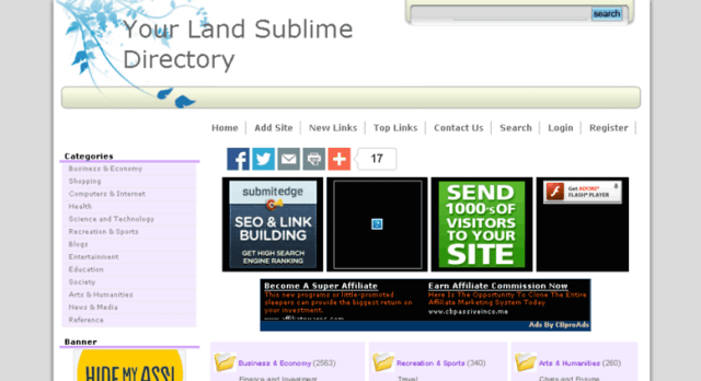 Your Land Sublime Directory