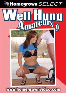 Well Hung Amateurs 9 cover