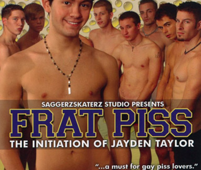 Frat Piss The Initiation Of Jayden Taylor