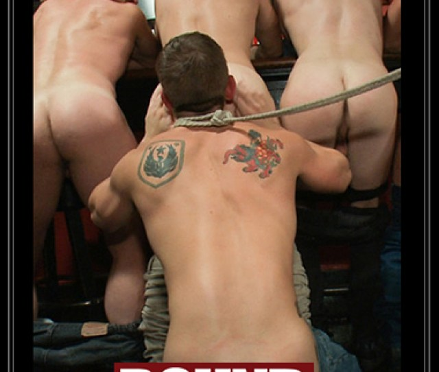 Nakedsword Com Bound In Public Naked Ripped Stud Gets Humiliated And Used In A Crowded Public Bar