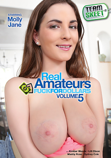 Real Amateurs Fuck For Dollars 5 cover
