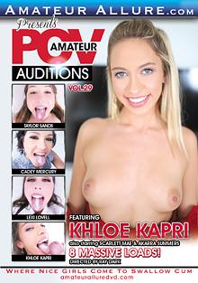Amateur POV Auditions 29 cover