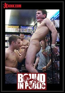 Bound In Public: Tristan Jaxx, Leon Knight And Jimmy Fanz cover