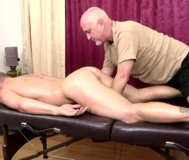 Mature Man Massages And Strokes Hot Man