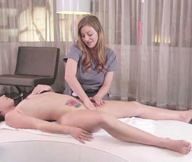 Lesbian Massage In The Luxury Hotel