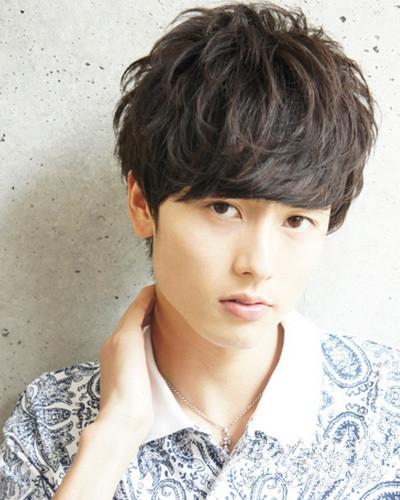 韓式男生燙髮型2015款 輕鬆展現潮男潮流氣質 - 色彩地帶