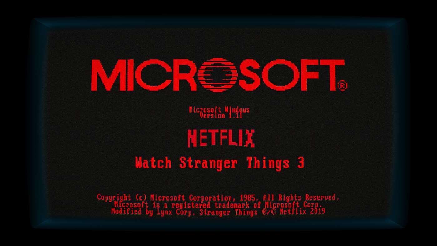 Une App Windows 1 11 Inspir 233 E De Stranger Things Fait Son