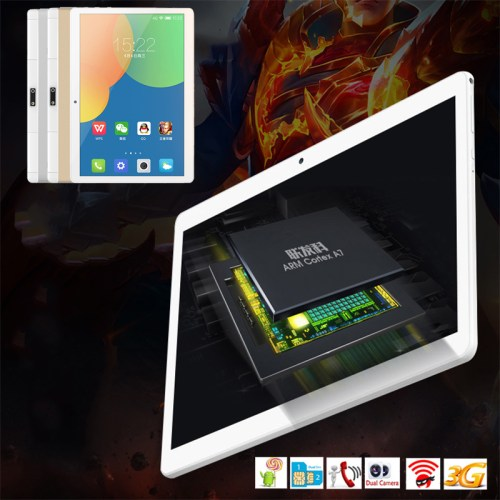 185031 3 0f03c2fdc9c14006aa677c667450e851 Generic Flat Pc Tablet PC Android 7.0 10.1 Inches Phablet Bluetooth