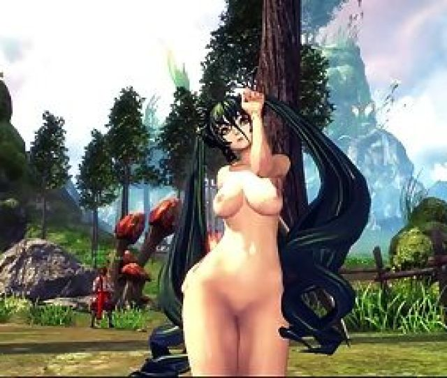 Blade Soul Sexy Naked Dance