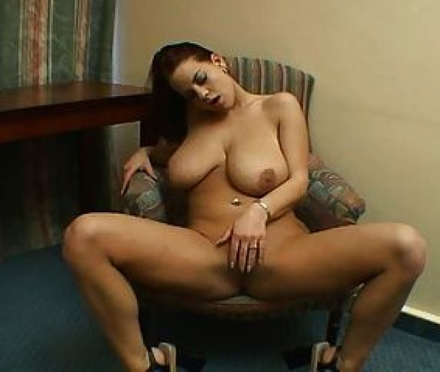 Sexy Brunette With Big Tits Solo