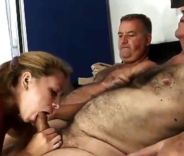 Old Hairy Man Fucking Young Wife