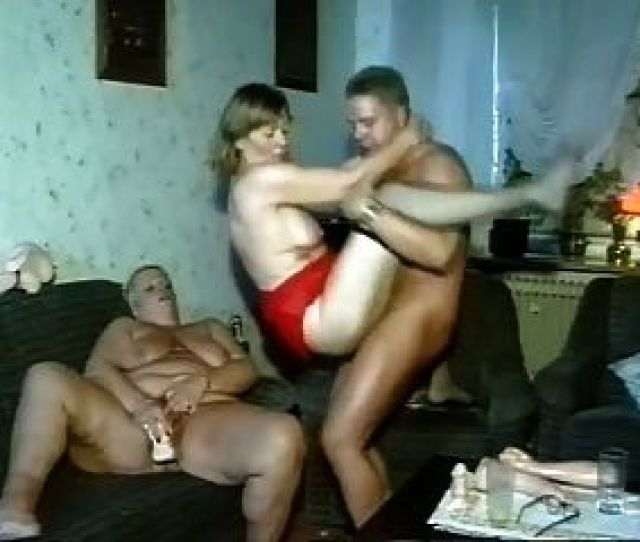 Man Fucks Two Chubby Mature Women