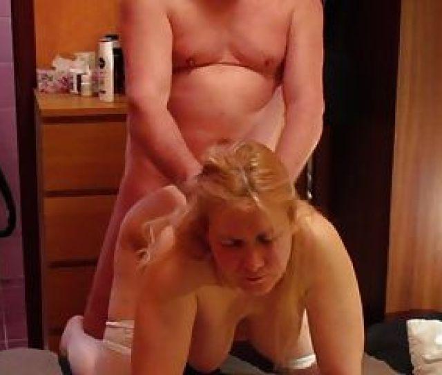 Tania Blonde Russian Milf Doggy Fuck Hair Pull