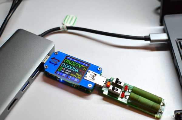 USB 3.0 концентратор с поддержкой VGA и HDMI