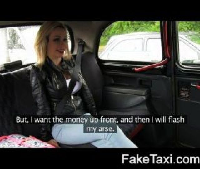 Faketaxi Young Blonde With Big Tits