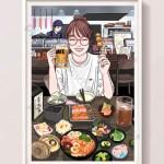 Cartoon Anime Gourmet Cuisine Japanese Ramen Sushi Restaurant Tavern Illustration Illustration Psd Free Download Pikbest