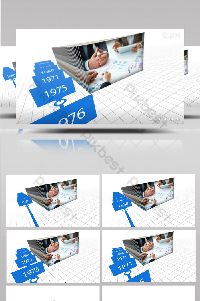 三維場景企業公司時間線發展ae展示範本 | 視頻素材AEP免費下載 - Pikbest