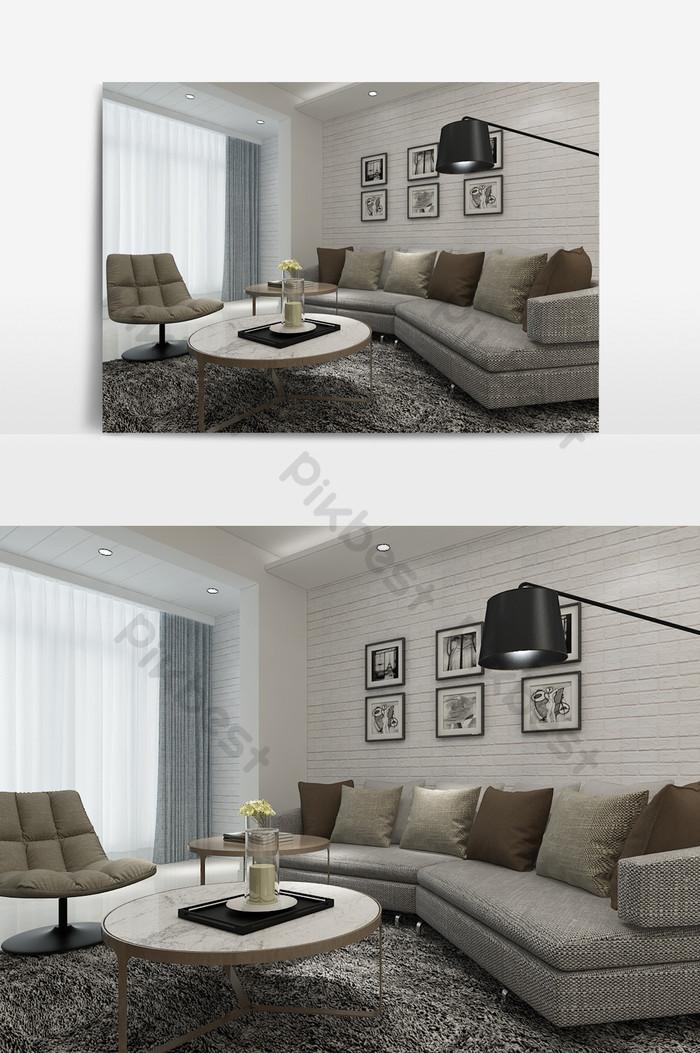 modele de salon minimaliste moderne