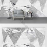Modern Minimalist Marble Texture Geometric Abstract Tv Background Wall Decors 3d Models Psd Free Download Pikbest