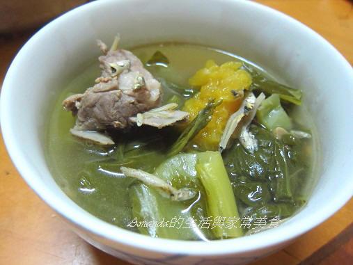 芥菜排骨鳳梨湯
