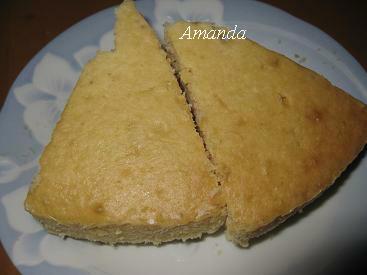 柚子鬆糕切片