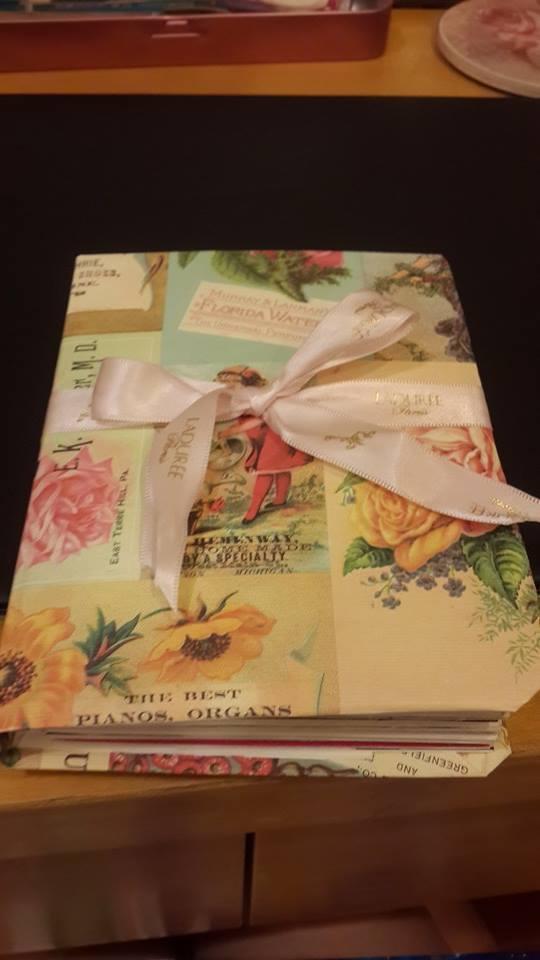 精裝版  手工書製作教學  (4) 完成品/ 生日禮物/周年紀念禮物/特別的禮物