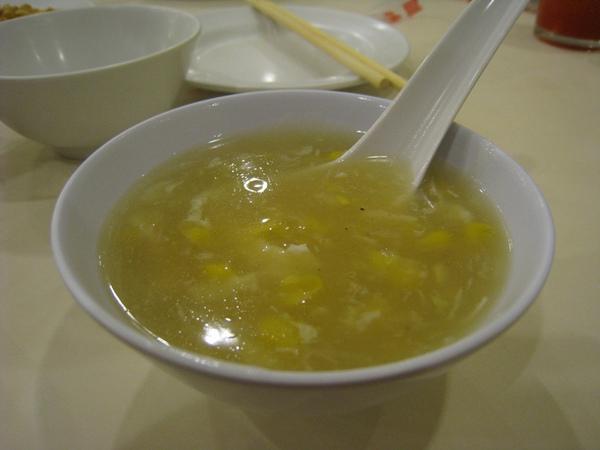 蟹肉粟米濃湯