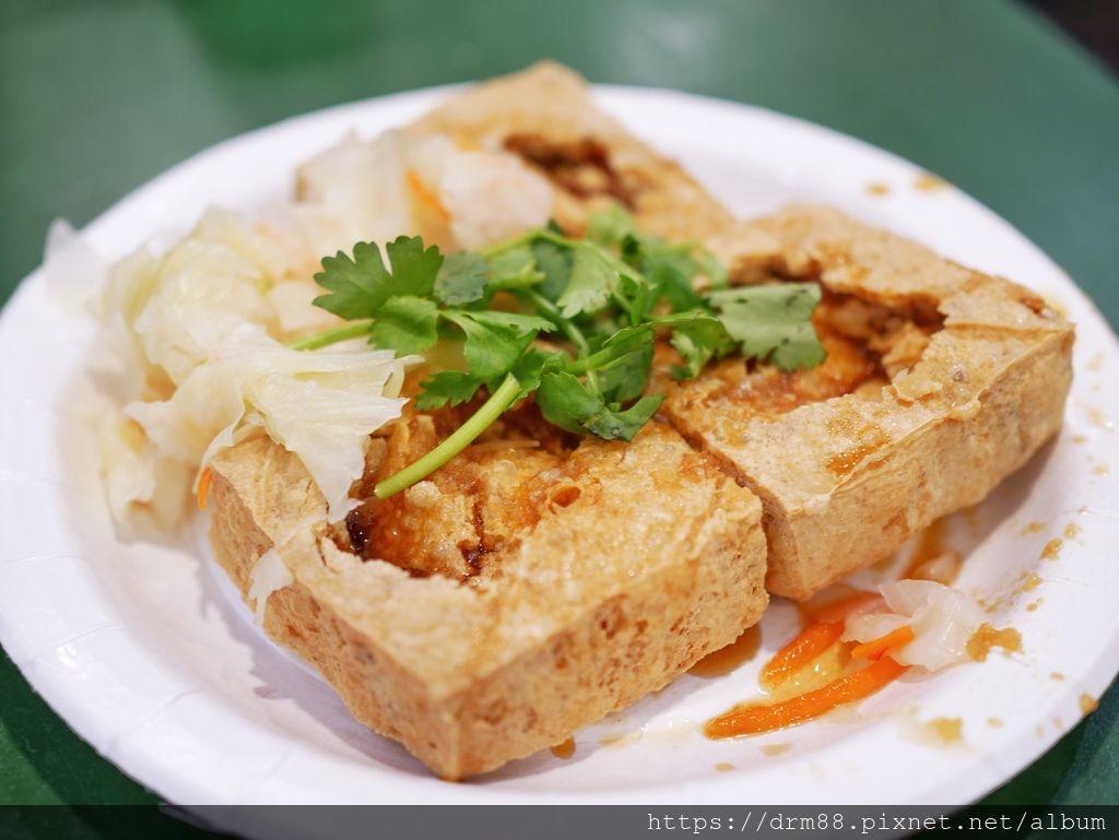 天香臭豆腐,通化夜市