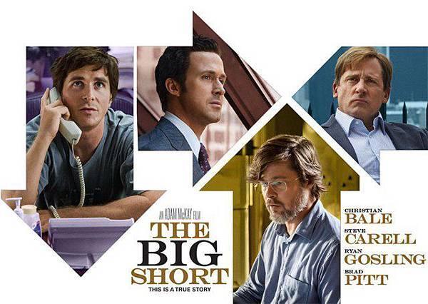 ✪腦粉影評✪2016【大賣空 the big short】是誰設了這個局 ? – 「無雷」