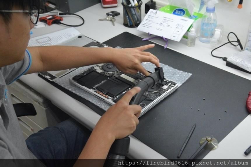 台北MacBook維修-MacBook除塵處理