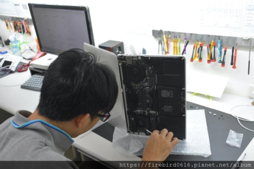 台北MacBook維修推薦-MacBook上蓋裝修
