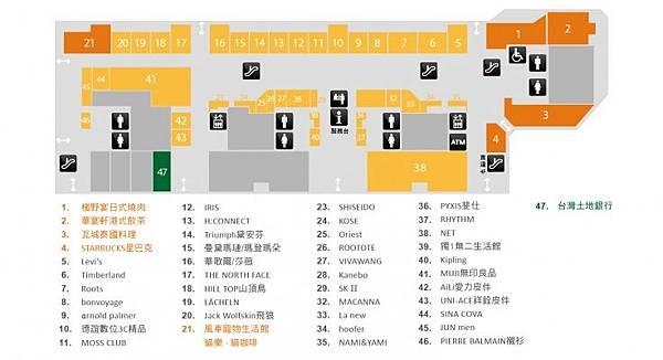 台北化妝品-iFG遠雄購物中心(U-town)1F平面圖.jpg