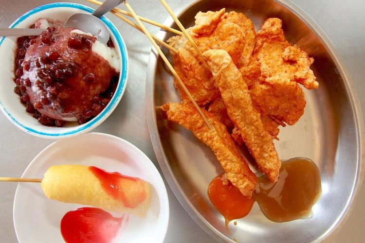 台南北區美食》吃。台南|北區。超過40年歷史,阿摩尼亞古老製冰機,古早味香蕉水雪乳冰,兼賣各式炸物,很懷舊值得推薦給您「維美冰店」。