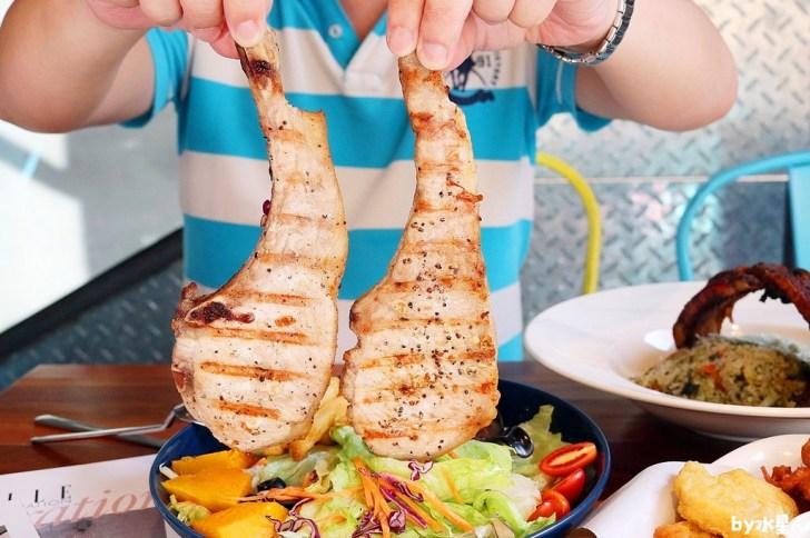 1546205477 2652339846 - 熱血採訪|諾諾索義式料理,超狂戰斧豬排、大啃鬼爪肋排還有爆量蛤蠣