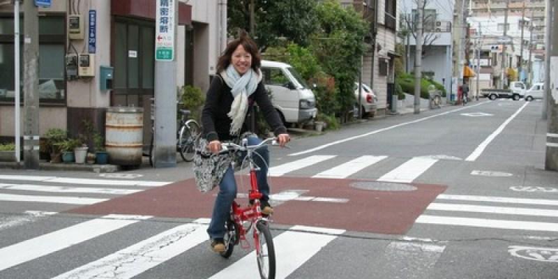 騎單車..遊走東京街頭