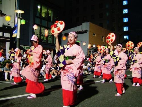 攝影師是恐嚇犯 日本東北落難記…..Part 3(完)  山形花笠祭
