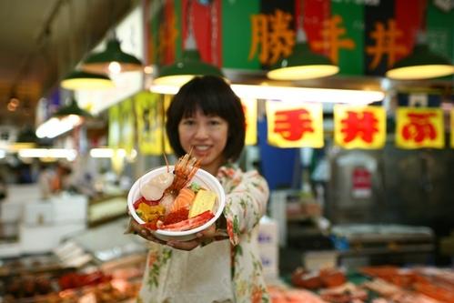 永遠的海鮮丼….永遠吃不厭的日本最愛