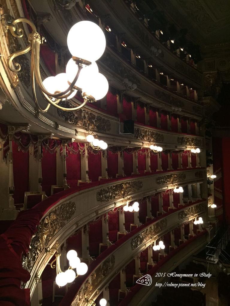 [義大利] 蜜月21天:米蘭 史卡拉歌劇院博物館 斯福爾札古堡 感恩聖母教堂(最後的晚餐預約)