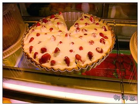 整塊草莓布蕾派