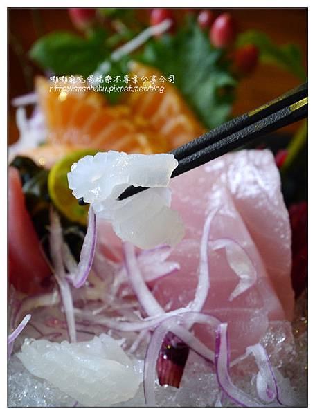 軟絲生魚片